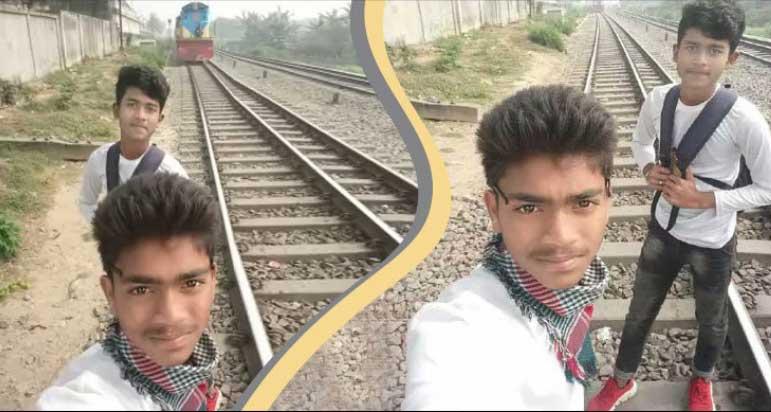 Selfie with running train: Schoolboy dies