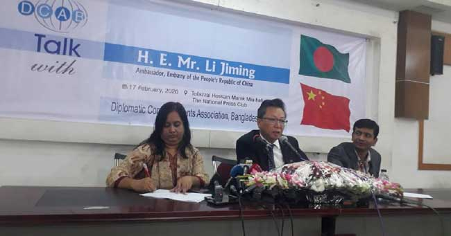 Don't switch to other countries: Li Jiming to Bangladeshi businesses