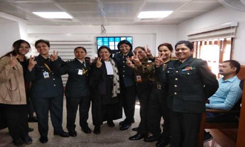 Indian court's verdict demolishes gender discrimination in Army