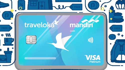 Mandiri, Traveloka agree to float new credit card
