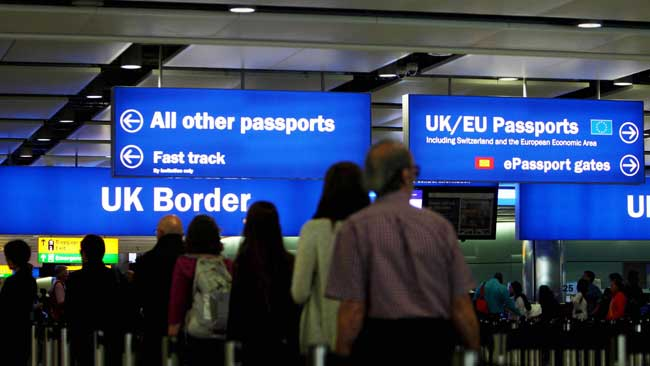 UK says, no visas for low-skilled workers