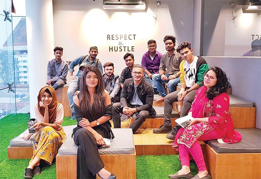 Bongo Studios organised a YouTube workshop for the emerging content creators