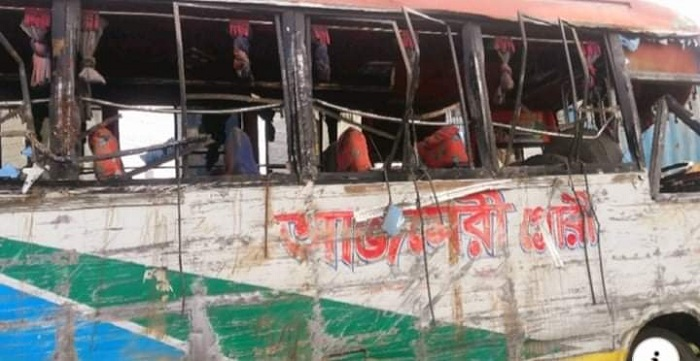 Mother, daughter killed as bus overturns