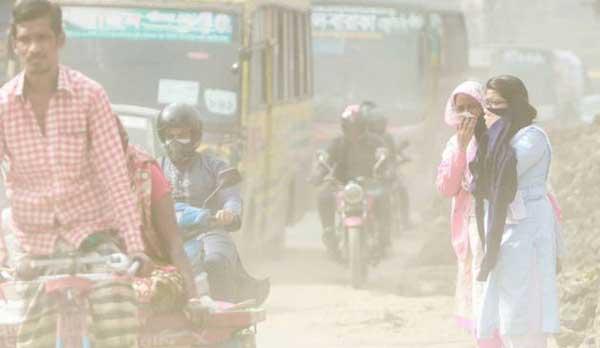 Dhakaites dealing with hazardous air