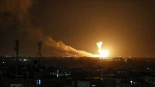 Israeli army says strikes Islamic Jihad sites in Gaza