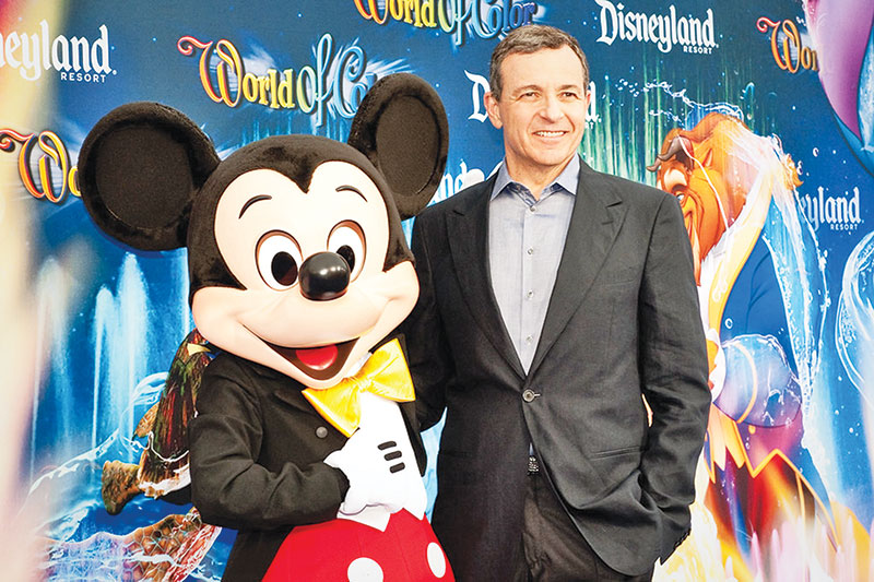 Disney's Park Head Chapek Takes Over Following Iger's Departure as CEO
