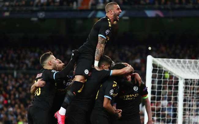 Man City beat Real 2-1