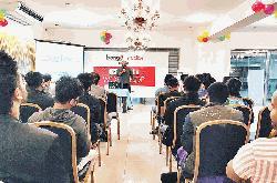 Bongo's YouTube workshop for YouTubers