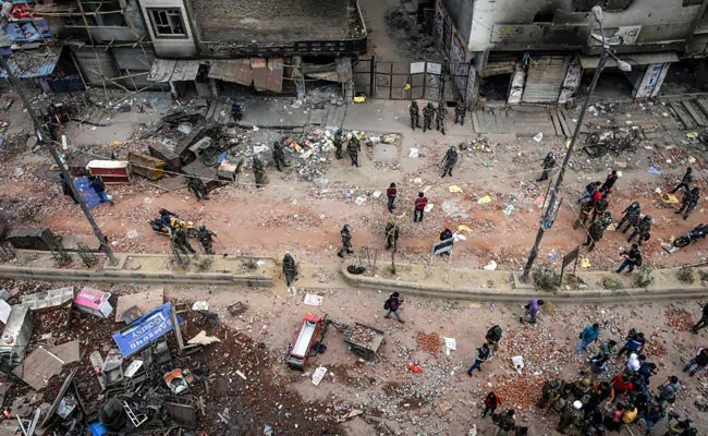 Delhi violence: The Home Ministry said peace meetings are being held in northeast Delhi areas (AFP)