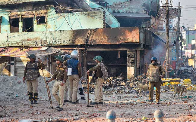 Situation peaceful in riot-hit Delhi