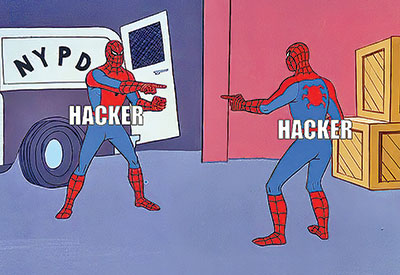 Hackers targeting other hackers