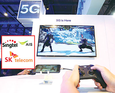 Singtel, AIS and SK together for gaming JV