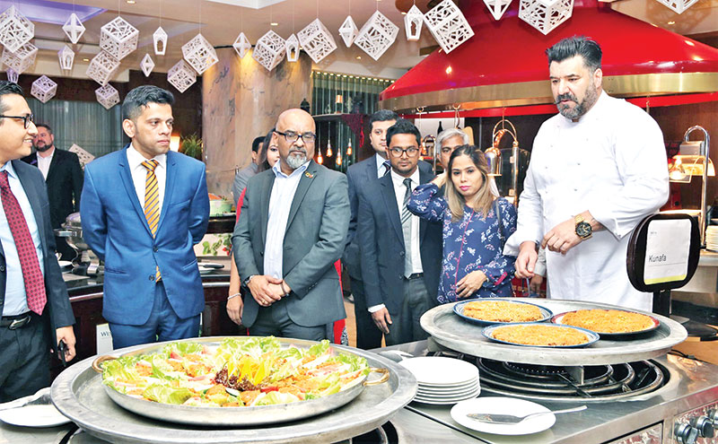 A feast from Middle East at The Westin Dhaka