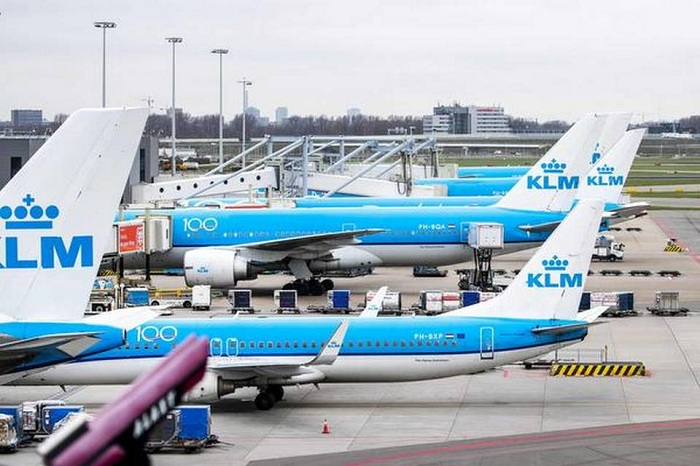 File photo of Dutch airline KLM aircrafts. For representational purposes only.   | Photo Credit: AFP