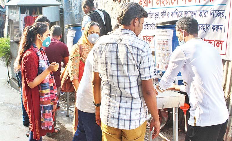 Programmes of Dhaka Community Hospital Trust to prevent Corona Virus