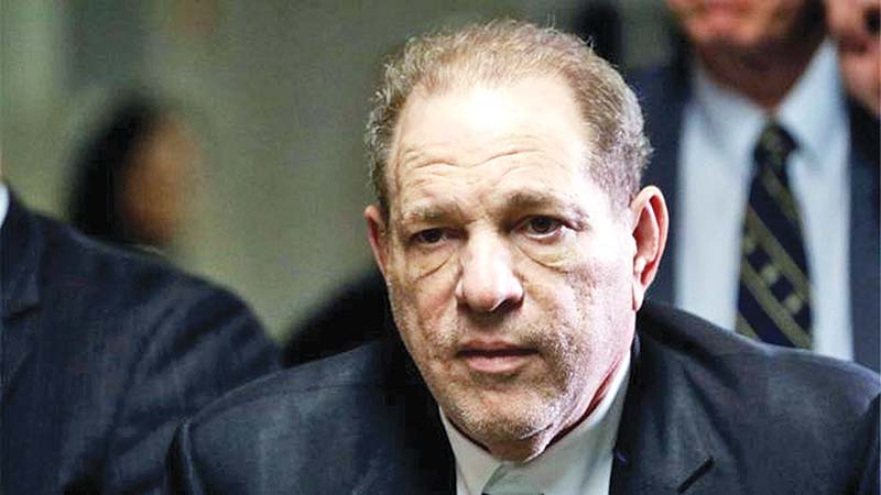 Coronavirus: Harvey Weinstein tests positive