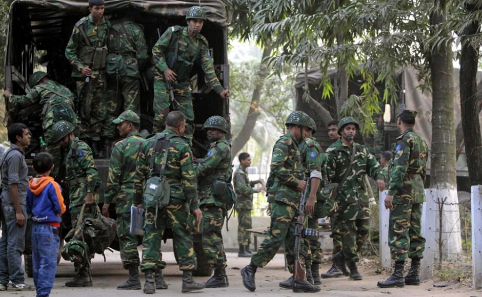 Armed Forces start fieldwork