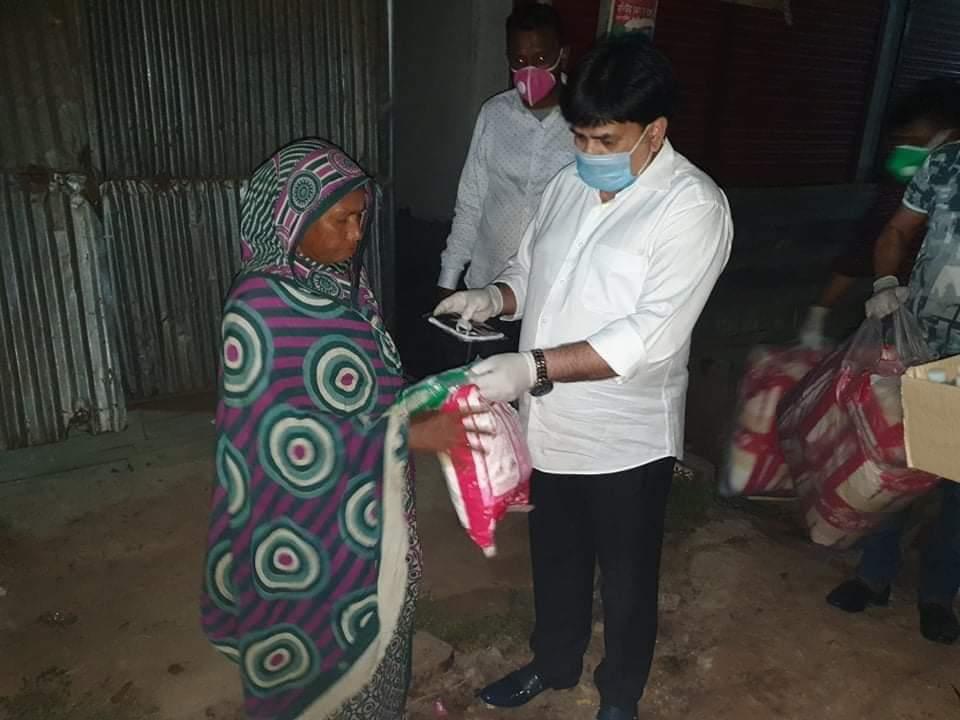 Coronavirus equipment, food distributed in N'ganj