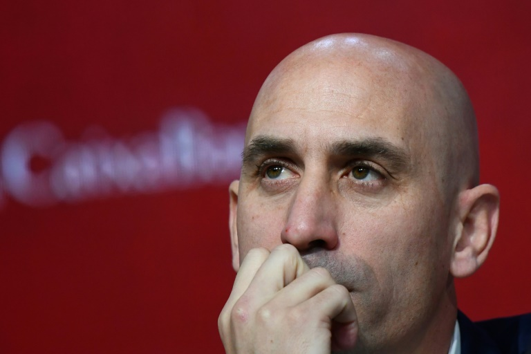 RFEF president Luis Rubiales said his Spanish Football Federation was ready to lend money to struggling clubs. Photo: AFP