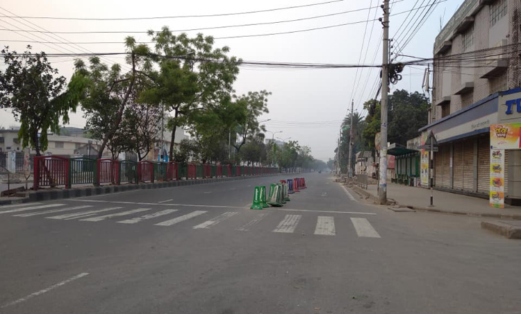 Strict measures on Dhaka streets to tackle corona risks