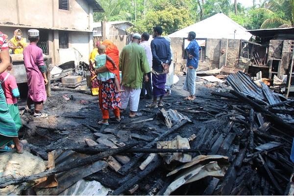 School teacher burn alive in Pirojpur