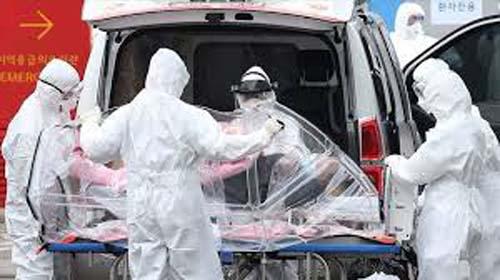 Global coronavirus death toll raises to 34,005
