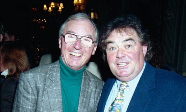 Comedians Syd Little and Eddie Large (right) pictured in 1994. Photo: Getty Image