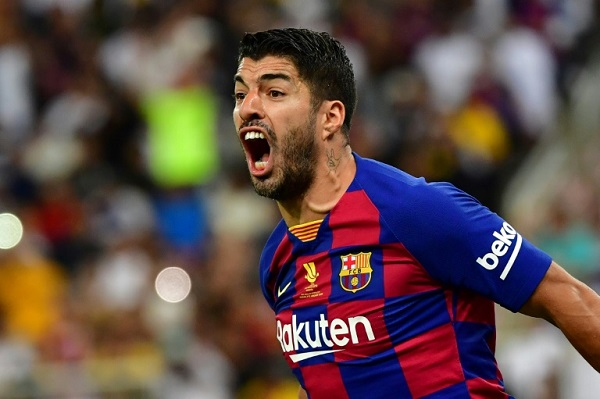 Luis Suarez says Barcelona players took time to reach a pay cut agreement because they were looking for the 'best solution' --AFP