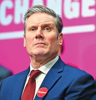 Keir Starmer elected new UK Labour leader