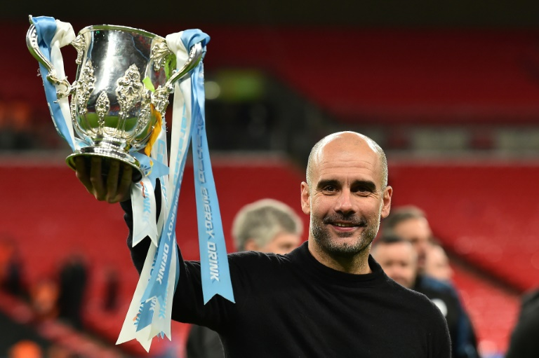 Manchester City manager Pep Guardiola urged fans to follow experts' advice on coronavirus. Photo: AFP