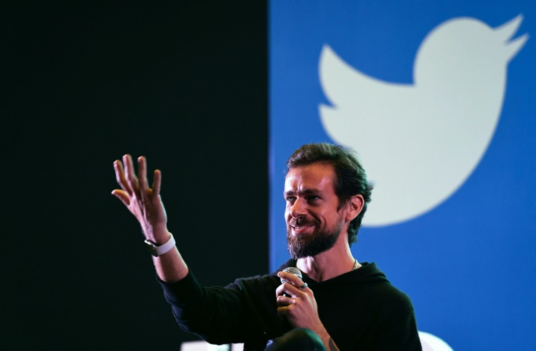 Twitter CEO Jack Dorsey is donating more than a quarter of his wealth for COVID-19 relief efforts. Photo: AFP