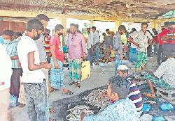 Festive gathering on in village bazaars at Betagi