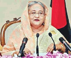 PM Hasina never fails to rise on the occasion of national crisis