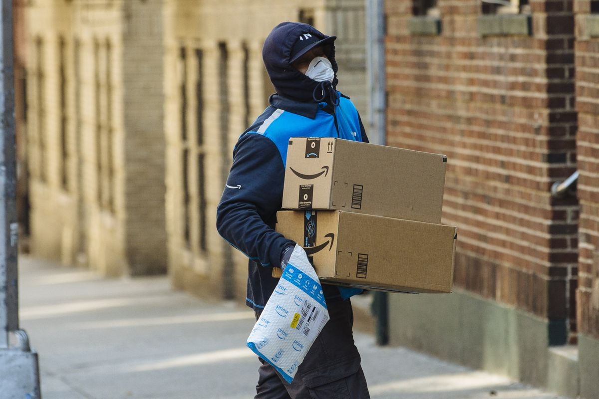 Amazon warehouse warned staff not to touch shipments for 24 hrs