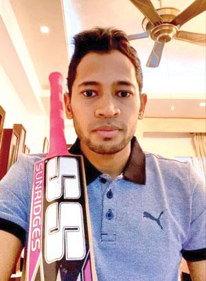 Afridi buys Mushi's bat