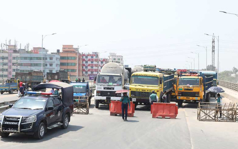 No entry to or exit from Dhaka