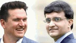 Graeme Smith wants Ganguly to head ICC
