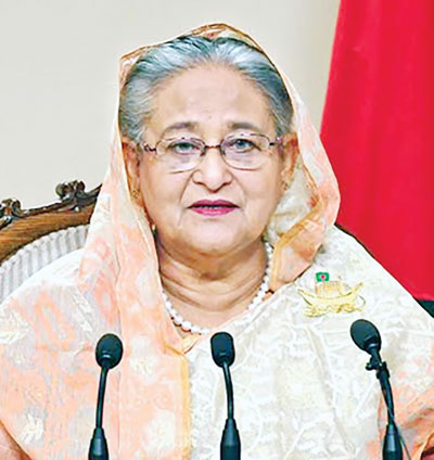 Covid-19 shows silver lining in climate change efforts: Hasina