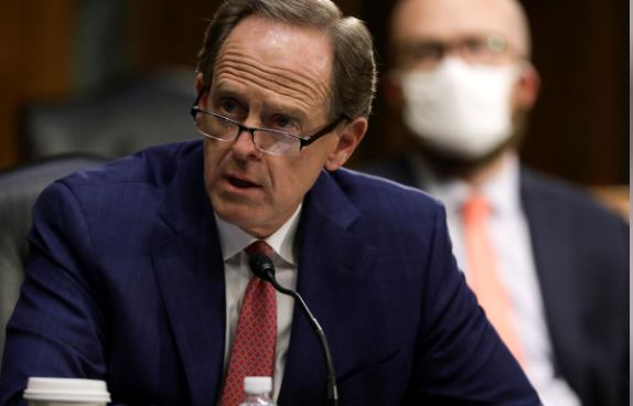 US Senator Pat Toomey (R-PA) speaks during a Senate Banking, Housing, and Urban Affairs Committee nomination hearing on Capitol Hill in Washington, US, May 5, 2020. File photo: Reuters