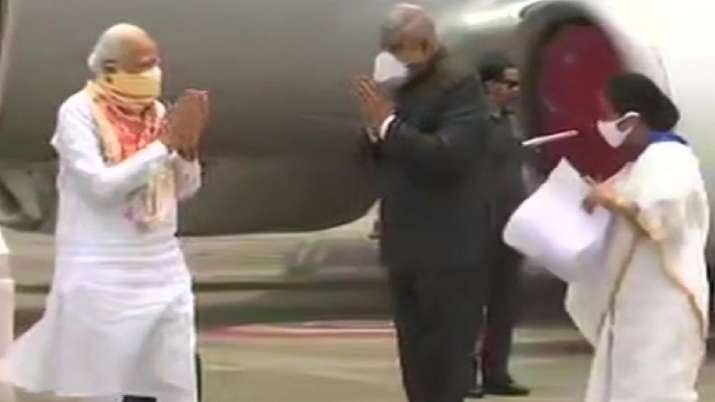 This is PM Modi's first travel outside Delhi in nearly three months