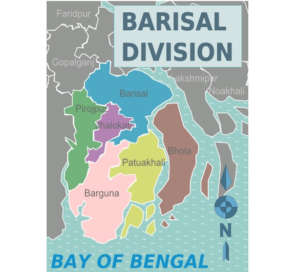 308 infected with coronavirus in Barishal division