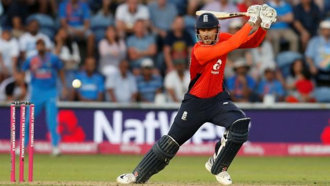 England's Alex Hales. Photo: Reuters