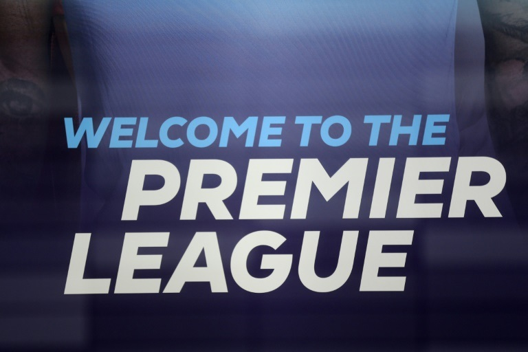 The logo of the English Premier League| AFP