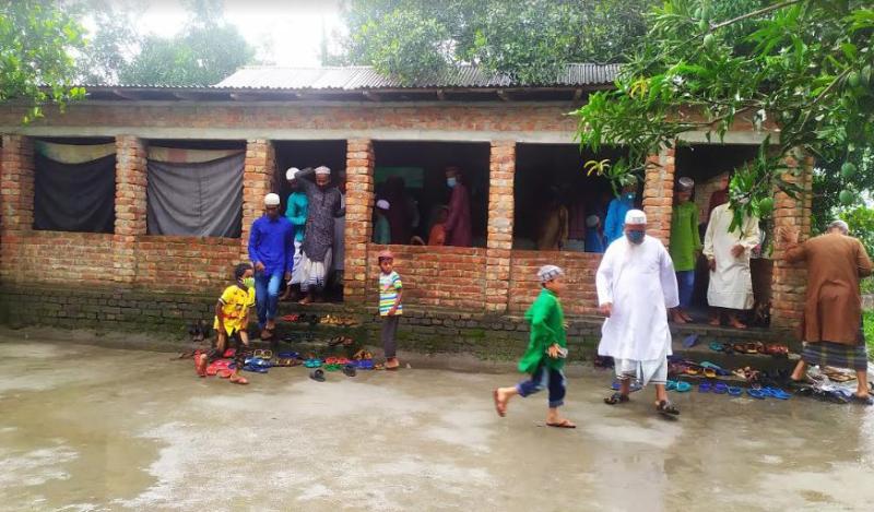 Eid being celebrated in some Lalmonirhat villages