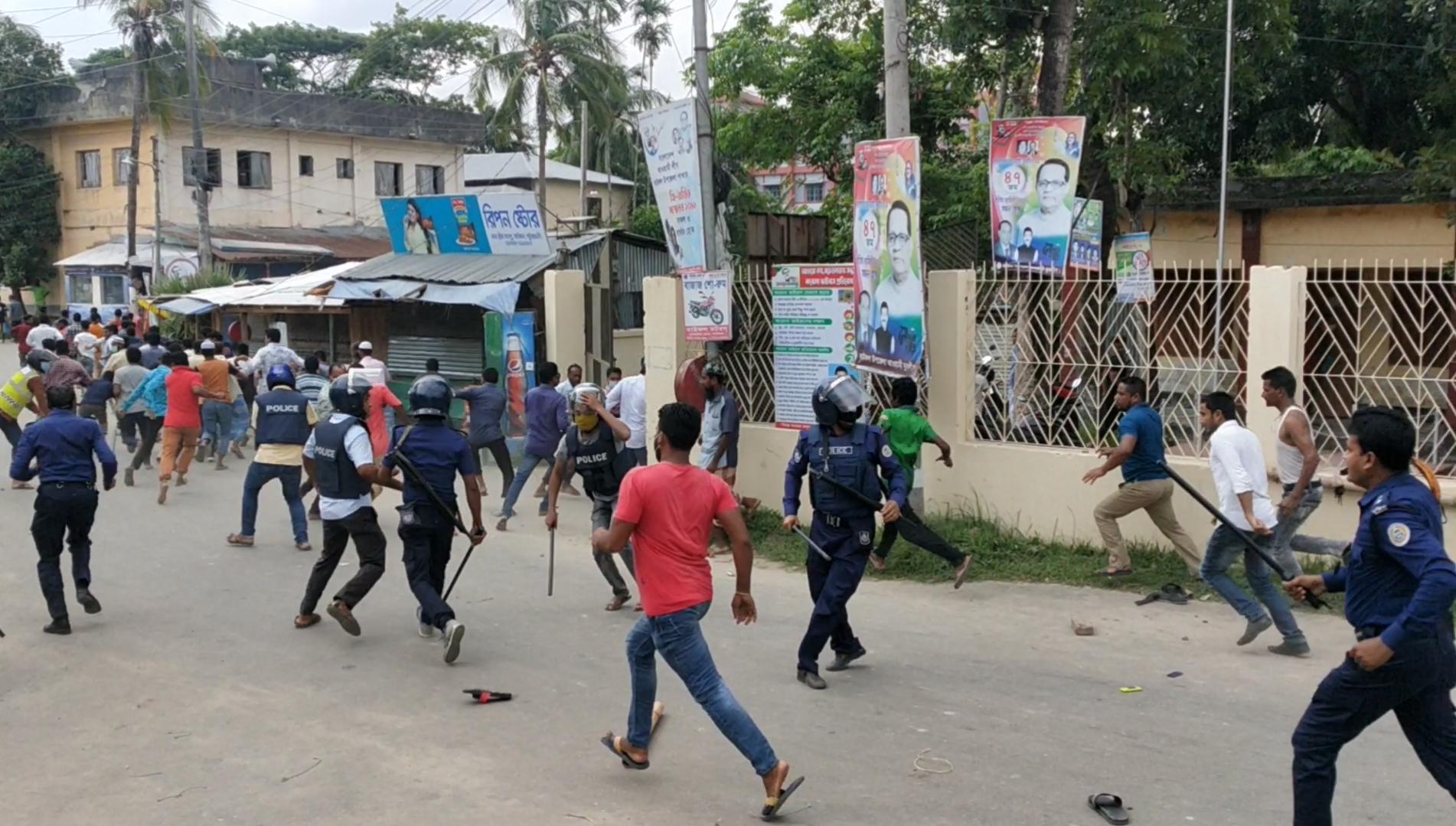 Jubo League man dies in AL intraparty clash in Bauphal
