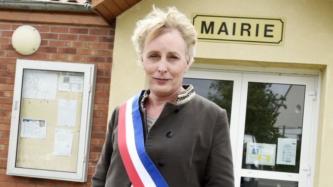 Tilloy-lez-Marchiennes's councillors elected Marie Cau as mayor on Saturday. Photo: Getty Images