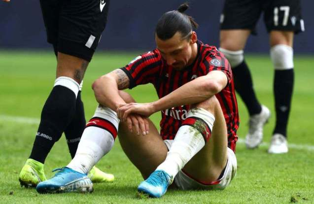 Ibrahimovic suffers potential Achilles injury