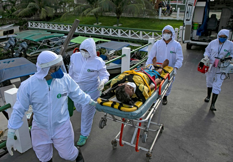 The coronavirus pandemic has hammered Latin America, with Brazil the latest epicentre of the disease. Photo: AFP