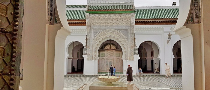 The world's first, and still-operating, university is in Morocco