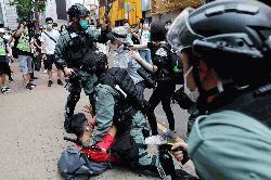 HK police arrest 300 amid anti-China unrest